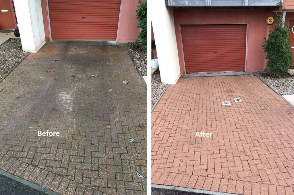 Driveway & Patio Cleaning Services