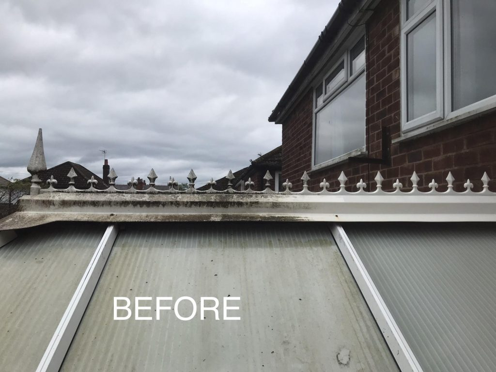 Conservatory Roof Cleaning Bolton