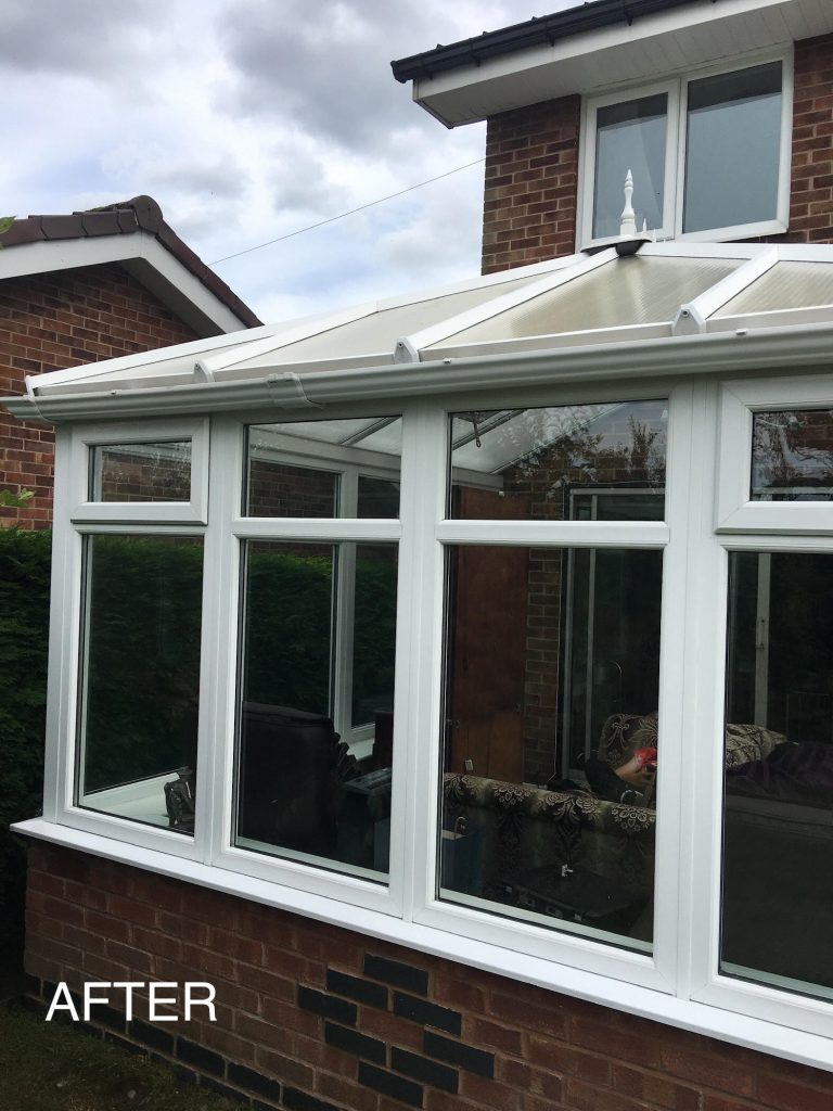 conservatory cleaning oldham